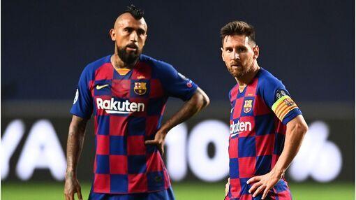 Messi gửi thông điệp xúc động chia tay Vidal - kết quả xổ số phú yên