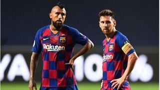 Messi gửi thông điệp xúc động chia tay Vidal