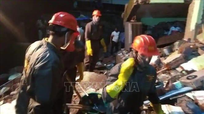 Tin tức thế giới 21/9: Sập chung cư ở Ấn Độ khiến ít nhất 8 người thiệt mạng. 1