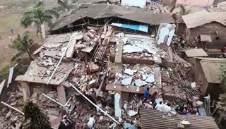 Sập chung cư ở Ấn Độ khiến nhiều người thiệt mạng và bị chôn vùi