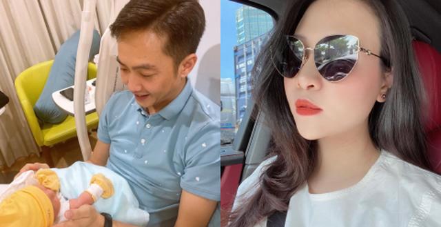 Cường Đô La bị  Đàm Thu Trang 'bóc phốt' khi than thở phải ở nhà trông con để vợ đi chơi