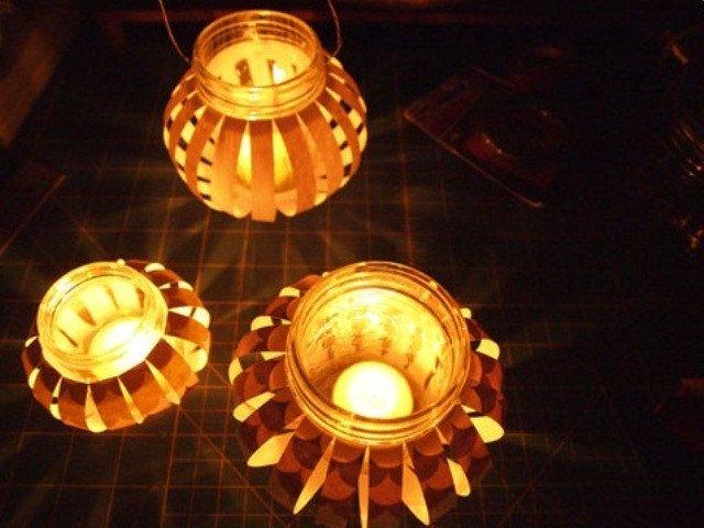 Chi tiết cách làm đèn lồng thủy tinh