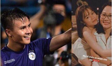 Sau chức vô địch cùng Hà Nội FC, Quang Hải ra mắt gia đình bạn gái