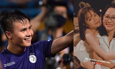 Quang Hải chính thức ra mắt gia đình Huỳnh Anh