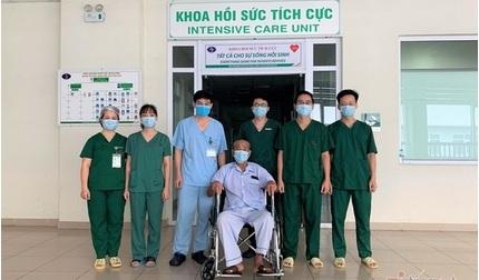 2 bệnh nhân Covid-19 nặng nhất miền Bắc được công bố khỏi bệnh