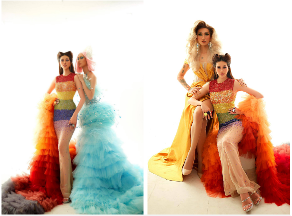 Khánh Vân tung bộ ảnh gây sốt ủng hộ cộng đồng LGBT, đọ sắc cùng dàn sao đình đám Vbiz