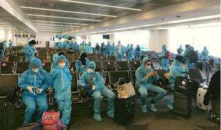 Hơn 220 công dân Việt Nam từ Nhật Bản được đưa về nước an toàn