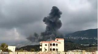 Lebanon lại rung chuyển vì một vụ nổ ở làng Ain Qana