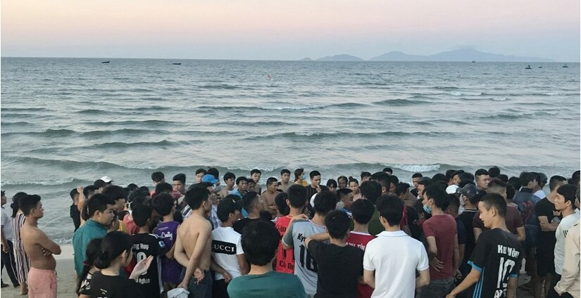 Phát hiện thi thể người nước ngoài trôi vào bờ biển Quảng Nam