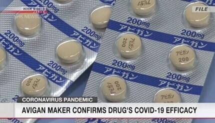 Thuốc Avigan của Nhật Bản hiệu quả trong điều trị bệnh Covid-19