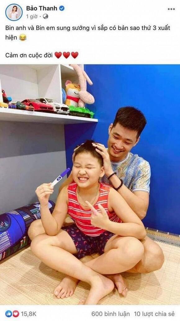 Mừng sinh nhật Phương Oanh, nhan sắc Bảo Thanh gây chú ý sau khi thông báo mang bầu