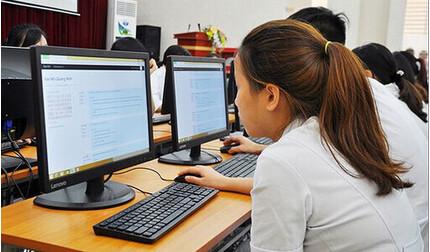 Bộ GD-ĐT tính phương án thi tốt nghiệp THPT trên máy tính