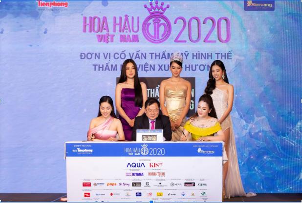 Họp báo công bố TMV Xuân Hương là đơn vị cố vấn thẩm mỹ hình thể Hoa hậu Việt Nam 2020
