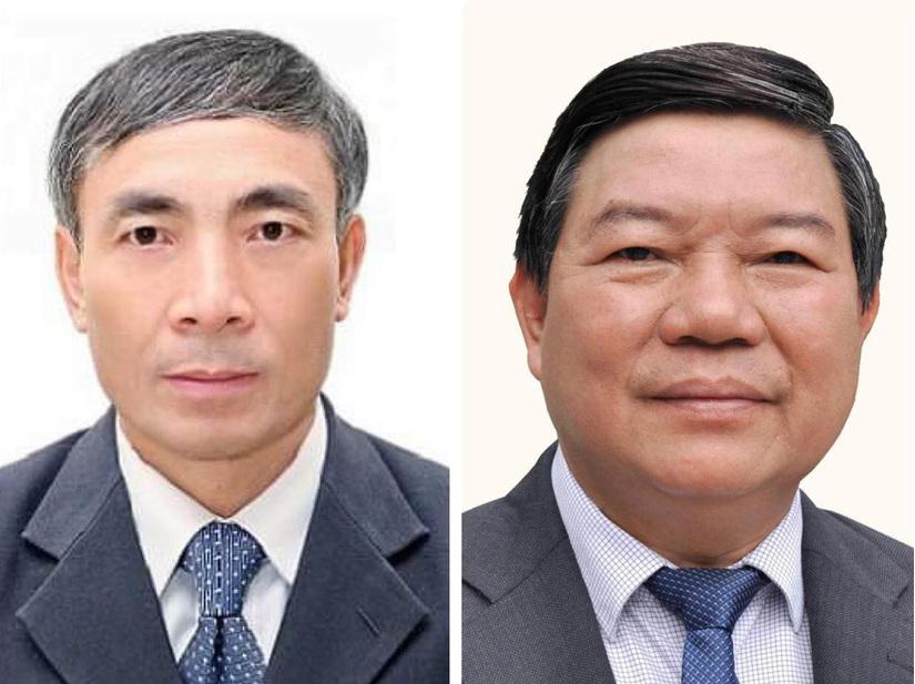 Ông Nguyễn Quốc Anh và ông Nguyễn Ngọc Hiền