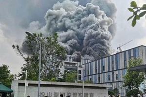 Cháy lớn tại một trung tâm của Huawei khiến 3 người thiệt mạng