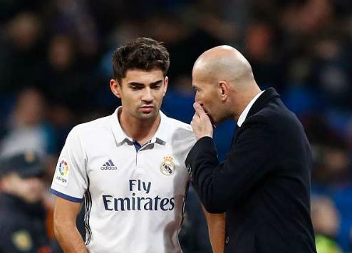 Con trai Zidane Enzo Zidane gia nhập đội bóng châu Phi