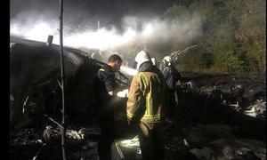 Rơi máy bay quân sự ở Ukraine, ít nhất 22 người thiệt mạng