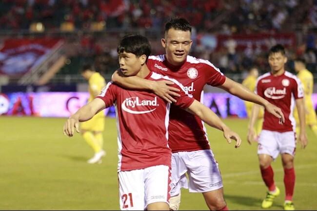 TP. HCM thắng đậm DNH Nam Định ở vòng 12 V.League