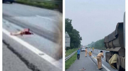 Lộ nguyên nhân vụ rơi từ xe bán tải để bị xe đầu kéo đâm tử vong