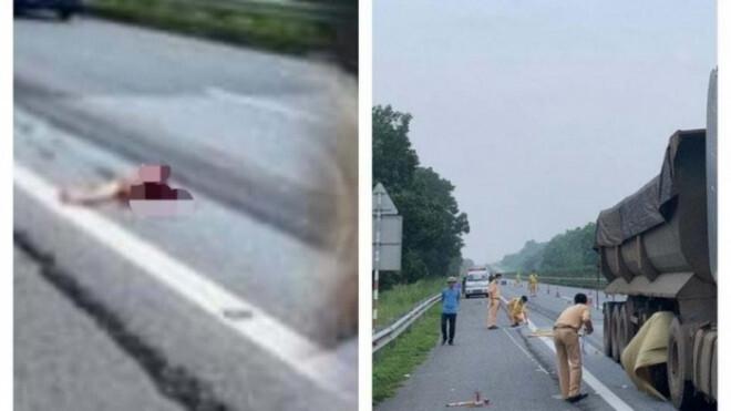 Vì sao người đàn ông nhảy khỏi xe bán tải để rồi bị xe đầu kéo đâm tử vong?