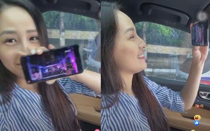Mai Phương Thúy mở nhạc Noo Phước Thịnh nghe, liên tục khen nam ca sĩ đẹp trai