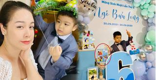 Chồng cũ Nhật Kim Anh đăng ảnh sinh nhật con trai, gỡ bỏ hình ảnh hai mẹ con?
