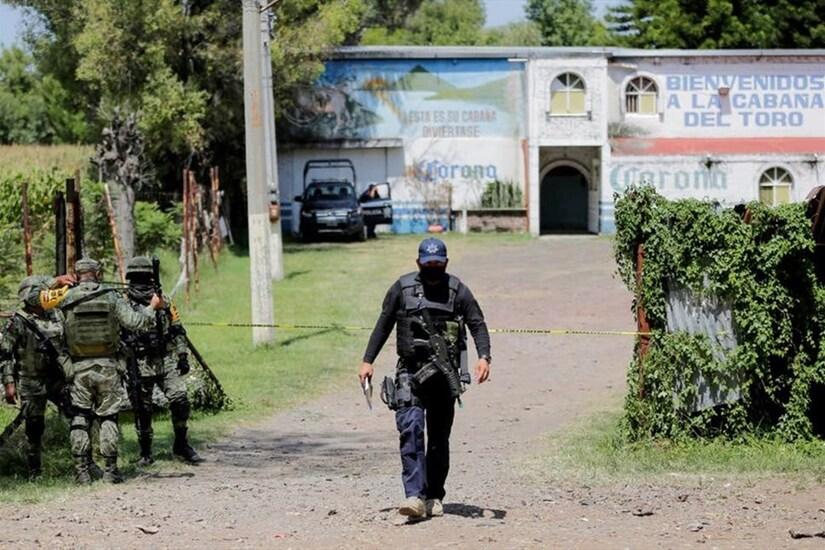 Thảm sát trong quán bar ở Mexico, 12 người thương vong