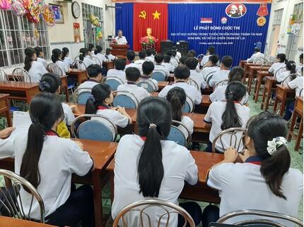 Cà Mau phát động cuộc thi 'Đại sứ học đường trong tuyên truyền phòng tránh tai nạn bom mìn, vật nổ do chiến tranh để lại'