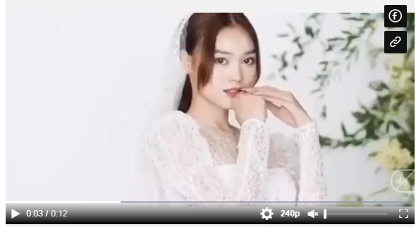 Xuýt xoa hậu trường chụp váy cưới của Ninh Dương Lan Ngọc
