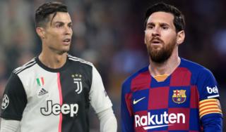 C.Ronaldo vượt qua Messi ở cuộc bầu chọn toàn cầu