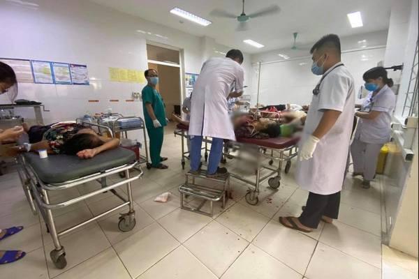 Truy bắt gã đàn ông dùng dao truy sát cả gia đình vợ cũ ở Hà Tĩnh