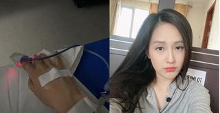 Mai Phương Thúy đăng ảnh nhập viện cấp cứu lúc sáng sớm