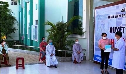 Hai sư cô tái dương tính Covid-19 ở Quảng Nam được xuất viện