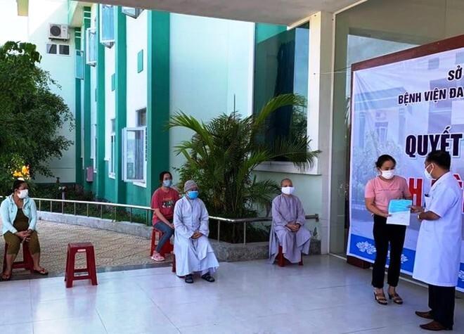 Hai sư cô tái dương tính Covid-19 ở Quảng Nam đã được xuất viện