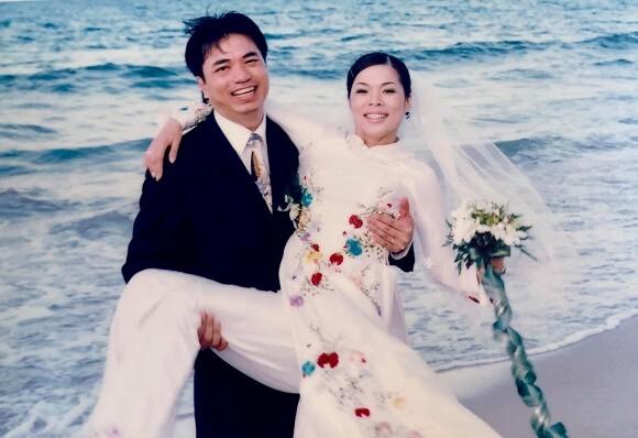 Mỹ Lệ hiếm hoi khoe ảnh cưới 16 năm trước