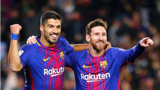 Atletico Madrid muốn mua Messi về đá cặp với Suarez