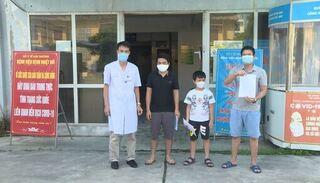 3 bệnh nhân Covid-19 cuối cùng ở Hải Dương được xuất viện