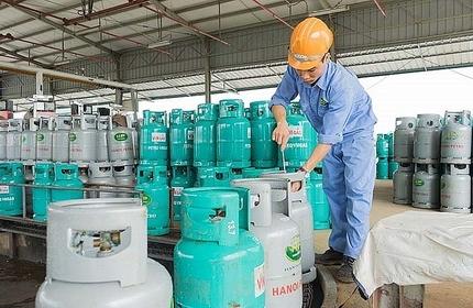 Giá gas hôm nay 1/10: Giá gas tiếp tục tăng 6.000 đồng/bình 12 kg