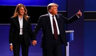 Tổng thống Mỹ Donald Trump và vợ nhiễm Covid-19