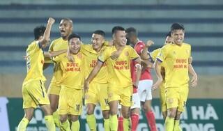 Thống kê 'buồn' của DNH Nam Định ở lượt đi V.League