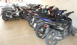 Ổ nhóm thực hiện hơn 60 vụ trộm xe máy sa lưới