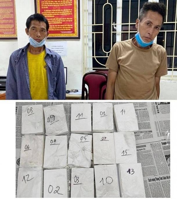 Khởi tố vụ vận chuyển thuê 15 bánh heroin từ Điện Biên về Thái Bình