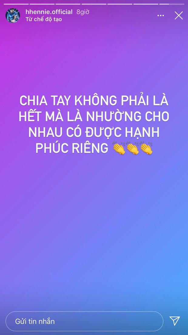 H'Hen Niê hủy theo dõi bạn trai, đăng trạng thái ẩn ý chuyện chia tay