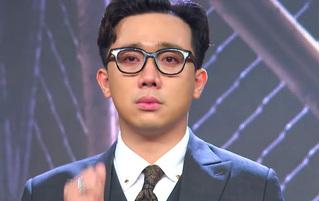 Trấn Thành đáp trả khi bị chỉ trích 'khóc lố' tại Rap Việt