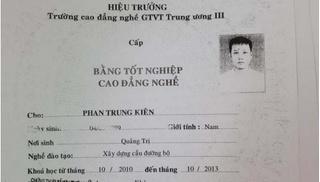 Quảng Trị: Thu giấy chứng nhận giáo viên dạy thực hành lái xe do dùng bằng giả