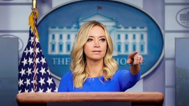 Thư ký báo chí Nhà Trắng đã mắc Covid-19