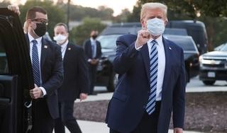 Tổng thống Trump rời bệnh viện, trở lại Nhà Trắng