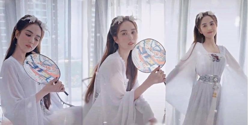 Ngọc Trinh biến hóa thành gái Tây với mái tóc xù mì