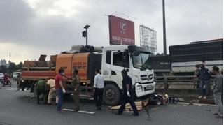 Người phụ nữ bị xe tải cán tử vong trên đường chở con đi khám bệnh