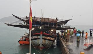 'Vượt biển' cứu nạn thành công 39 thuyền viên tàu cá